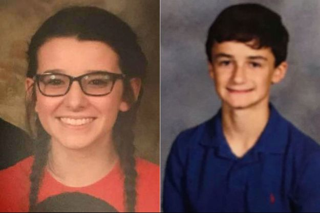 Bailey et Preston ont été abattus dans leur lycée mardi dernier.