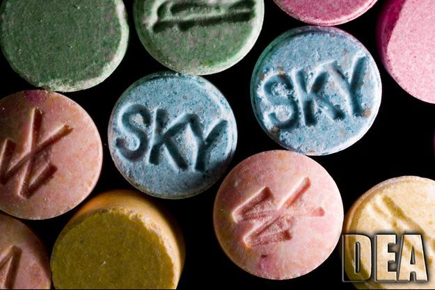 """Des pilules de """"Molly"""", dérivé de l'ecstasy"""