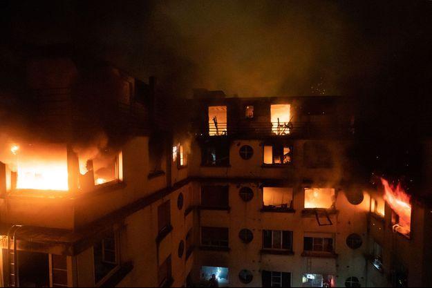Un incendie a tué au moins dix personnes le 5 février 2019 à Paris.