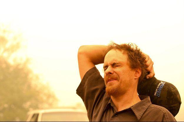 Chris Tofte, désespéré alors qu'il cherche son fils Wyatt.
