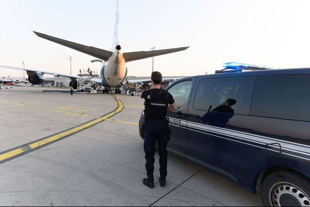 A l'aéroport de Roissy (image d'illustration).