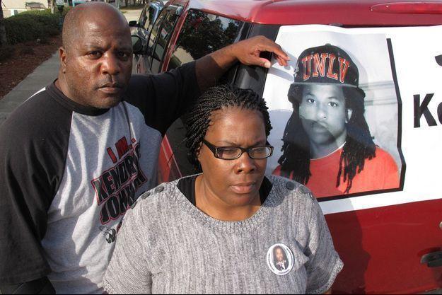 Les parents de Kendrick Johnson.