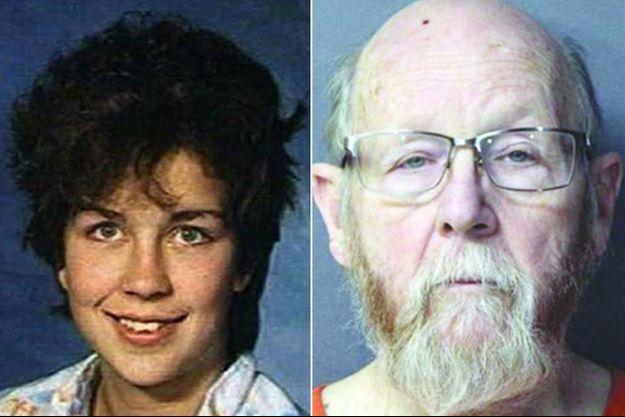Aundria Bowman et son père adoptif Dennis Bowman.