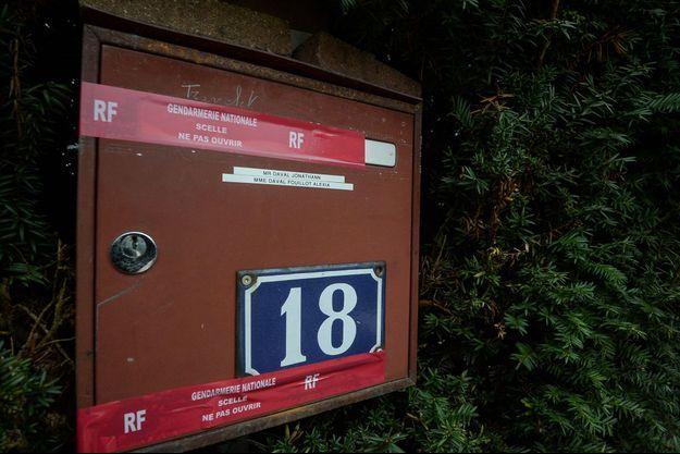 La boîte aux lettres de l'habitation des Daval cambriolée.