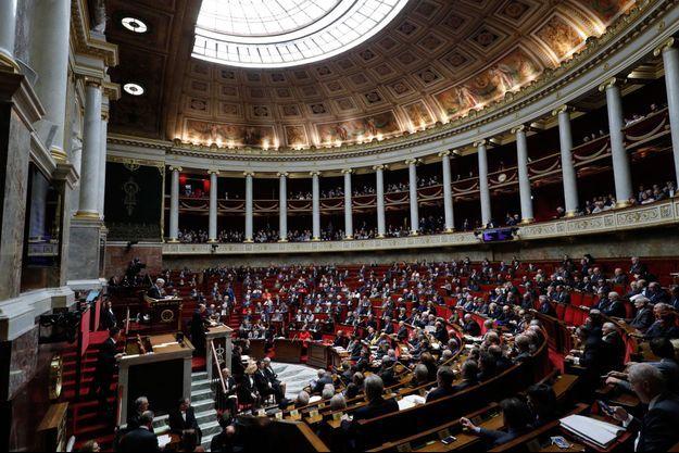 L'Assemblée nationale, ici en décembre dernier. (image d'illustration)