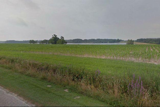 Le corps du petit Nicolas aurait été noyé dans ce lac des Landes.