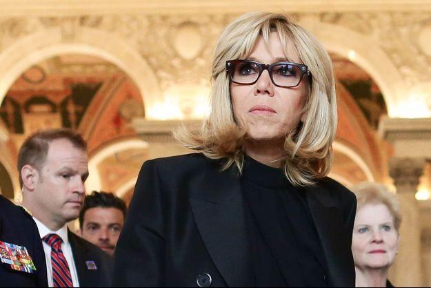 Brigitte Macron fin avril à Washington.