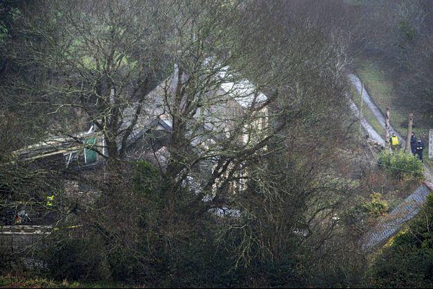 La ferme de Stang à Pont-de-Buis (Finistère). L'ancien ingénieur dans l'industrie navale l'avait acquise en 2015.