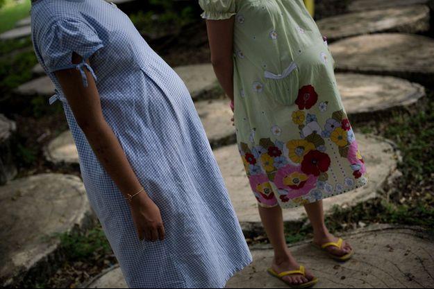 Adolescentes enceintes en Thaïlande, en 2013 (photo d'illustration).