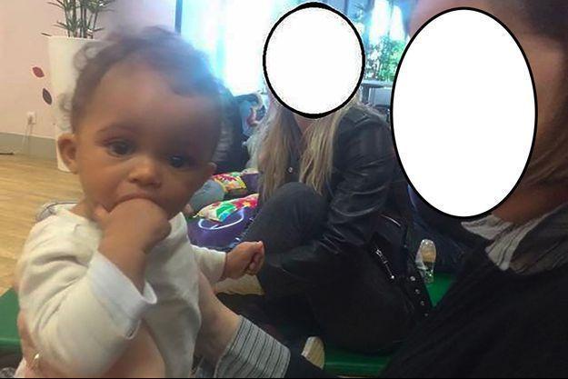 La petite Vanille avait un an.