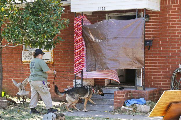 La maison du suspect a été fouillée mercredi