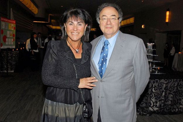 Le milliardaire canadien Barry Sherman et de son épouse Honey en 2010.
