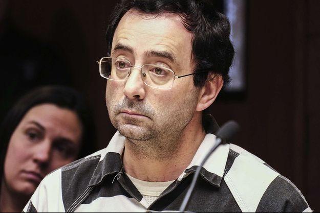 Le docteur Larry Nassar devant la justice.