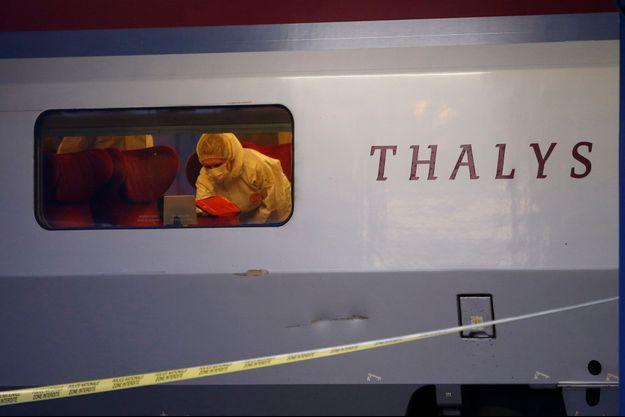 La scène s'est produite dans la voiture 12 du Thalys Amsterdam-Paris.