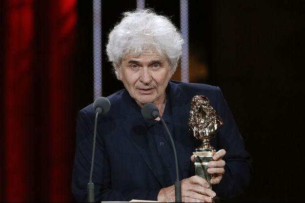 Alain Françon sur la scène des Molières en 2016.