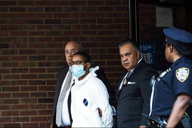 Tyrese Haspil est accusé du meurtre de son patron.