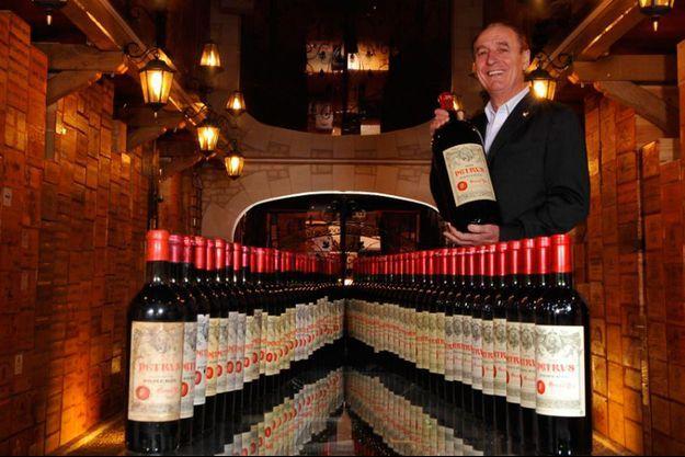 Michel Chasseuil propriétaire de la plus belle cave au monde
