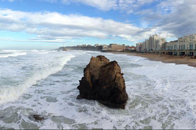 Biarritz après la tempête.