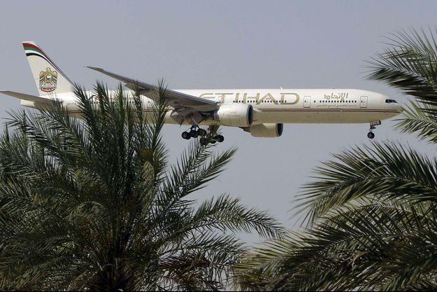 Un avion de la compagnie Etihad.
