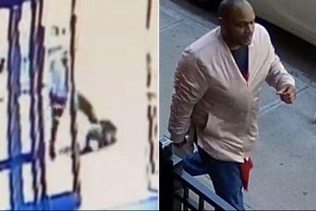 La police a diffusé les images de l'agression et du suspect, toujours en fuite.
