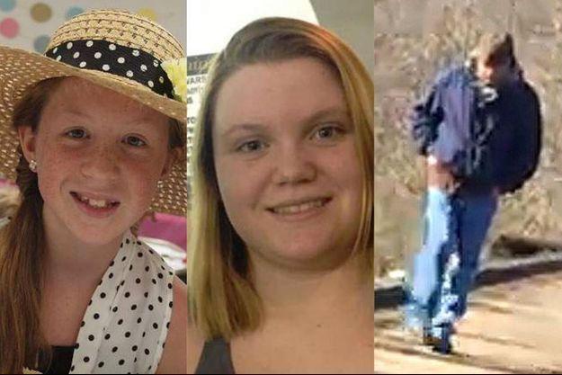 Abby, Libby et le suspect.