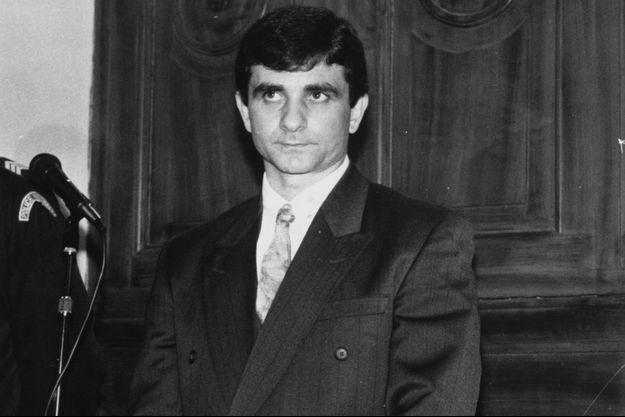 Luc Tandorre lors de son procès en 1992.