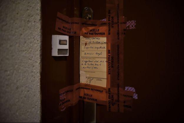 Les scellés de la gendarmerie ont été installés au domicile de Magali Blandin.
