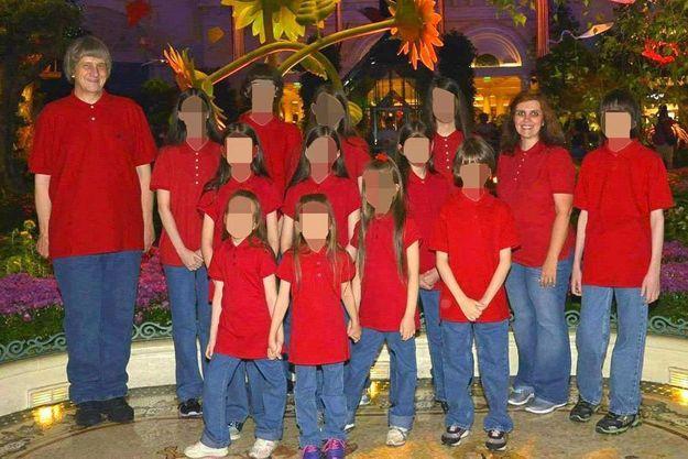 La famille Turpin sur une photo non datée.