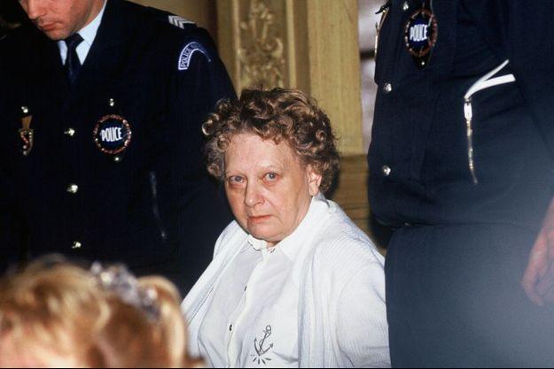 Simone Weber en janvier 1991