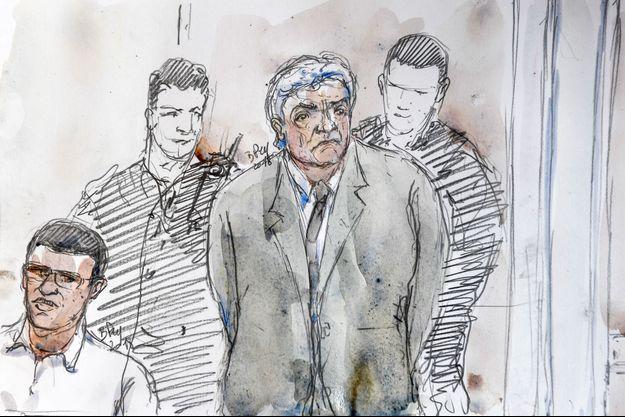 Wojciech Janowski, représenté ici lundi à la cour d'assises d'Aix-en-Provence.