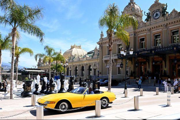L'accident s'est déroulée place du Casino à Monaco.
