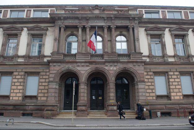 Le tribunal de Mulhouse (image d'illustration).