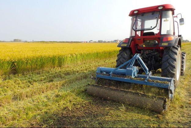 Un tracteur (photo d'illustration).