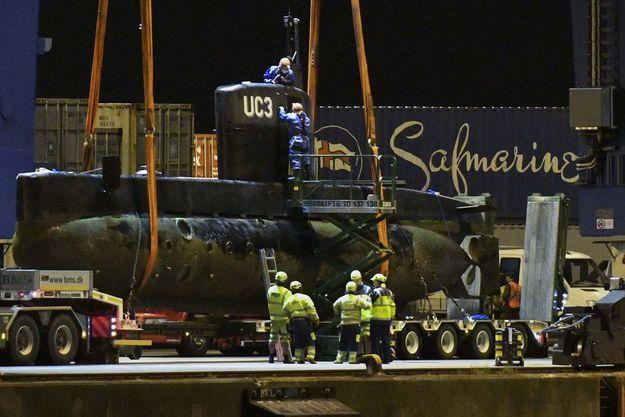 Le sous-marin Nautilus à Copenhague.