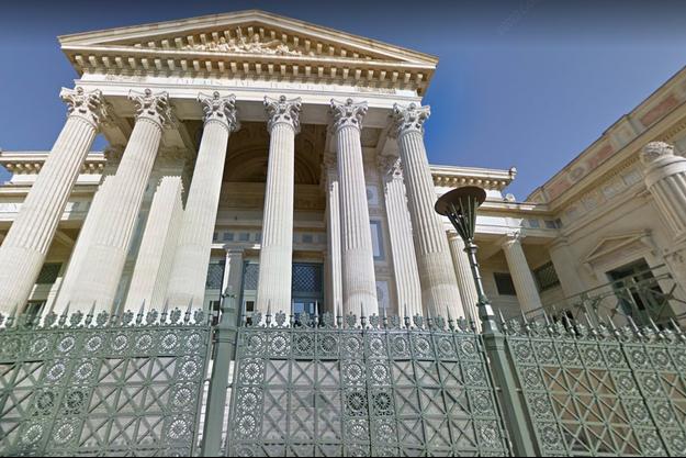 La Cour d'appel de Nîmes.