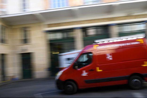 Un camion de pompiers (image d'illustration).