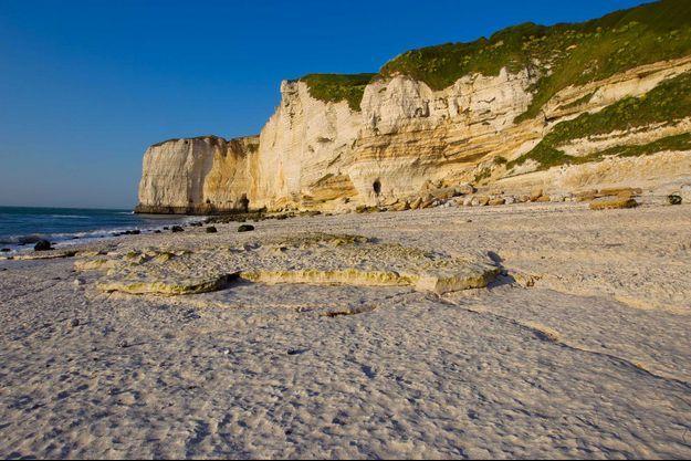 La Falaise D'amont en Normandie (Image d'illustration).