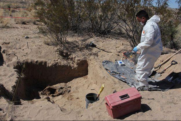 Une dépouille trouvée sur une plage (photo d'illustration).