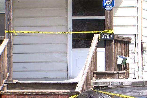 Le drame s'est déroulé dans cette maison de Cleveland.