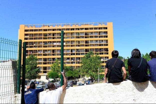 La cité du Parc Corot, à Marseille (photo d'illustration)