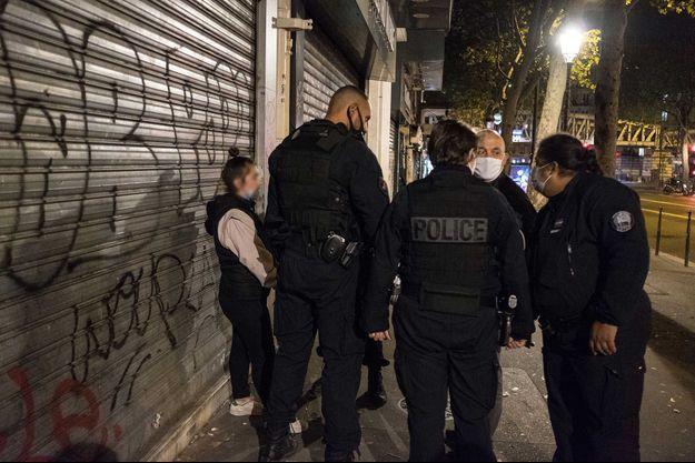 Image d'illustration de policiers.