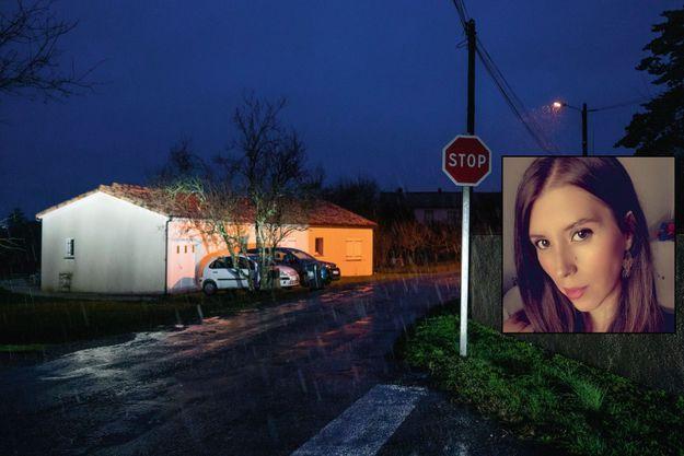 C'est à ce croisement marqué par un « Stop » qu'ont été repérées les dernières traces de la jeune femme. A un jet de pierre du domicile familial, à Cagnac-les-Mines.