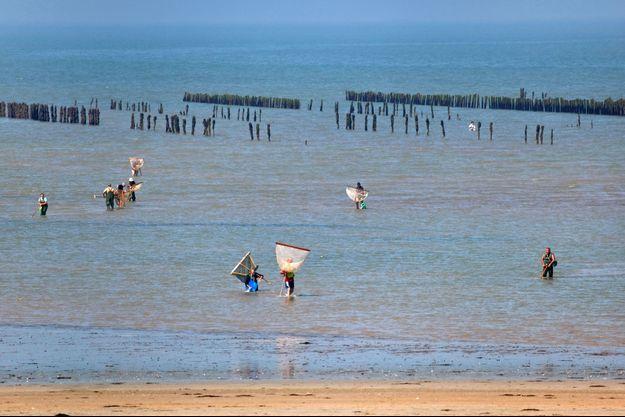 La plage de la Barbâtre, à Noirmoutier, en avril dernier (photo d'illustration).