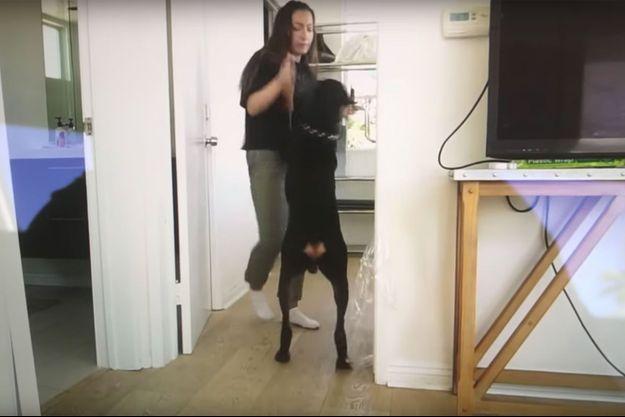 Brooke Houts dans la vidéo polémique.