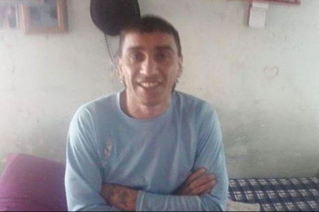 """Gabriel """"Chirete"""" Herrera, le prisonnier argentin qui a tué ses deux compagnes."""