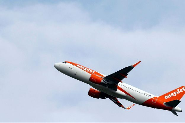 Un avion de la compagnie Easyjet (image d'illustration).