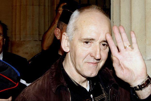 Dany Leprince à son arrivée au Palais de Justice en 2011.