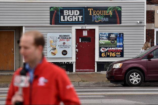 Le Tequila KC bar de Kansas City, où a eu lieu le bar.