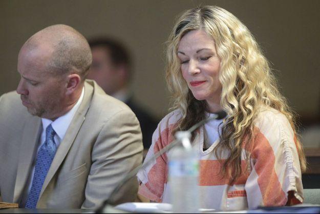 Lori Vallow devant le tribunal, dans l'Idaho.