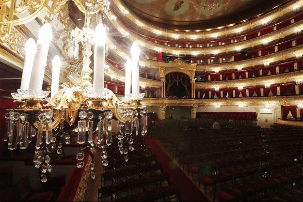Le théâtre du Bolchoï, en Russie.